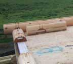 log cabin home subfloor maryland