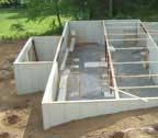 log cabin home foundation