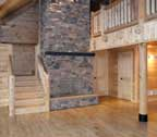 log cabin home interior maryland