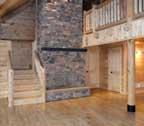 log cabin home interior maryland