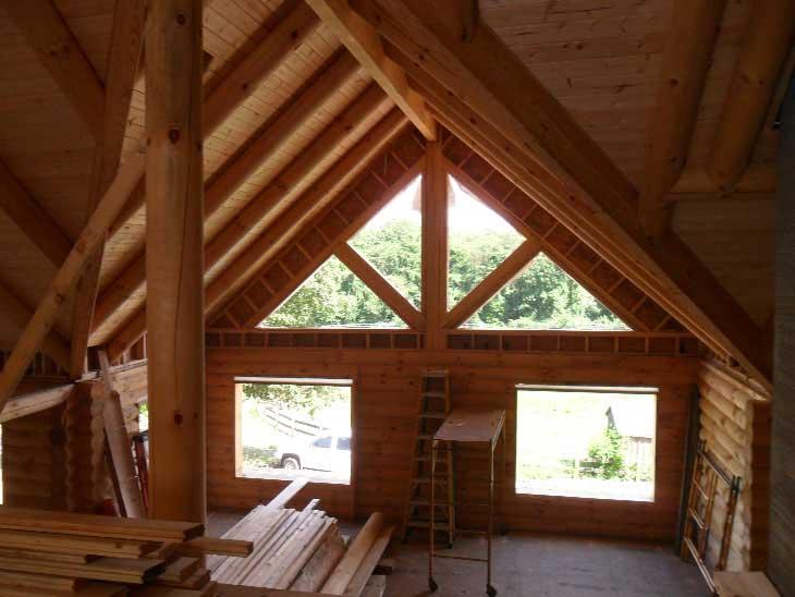 log cabin home maryland