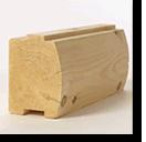 log cabin kit log