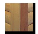 contemporary log cabin corner notch