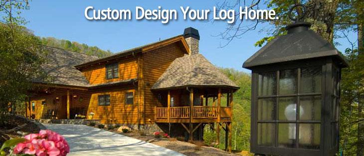 Custom design your log home.