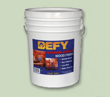 Defy® Interior Acrylic Wood Finish