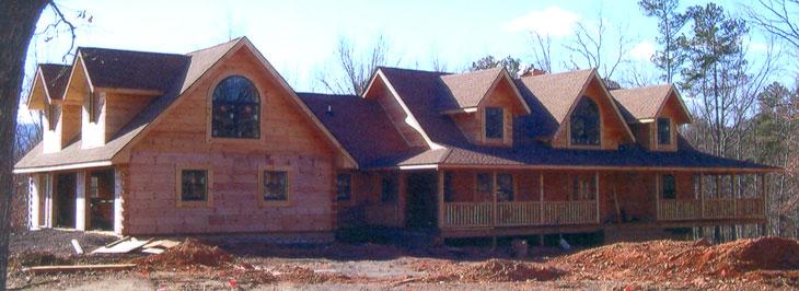 Dogwood Mountain Log Homes Modified Fairmont