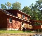 Modified Buchanan Log home
