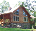 Modified Dogwood Log Home