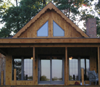 Log Siding Addition