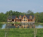 Modified Fairmont Log Home
