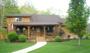 log cabin home
