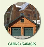 log home floor plans cabins and garages