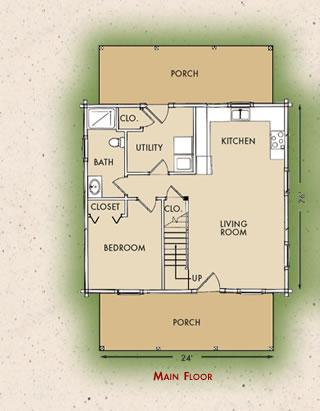 Customized Northpoint, Main Floor Plan