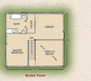Customized Northpoint, Second Floor Plan