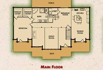 The Richmond Main Floor Plan