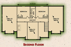 The Richmond Second Floor Plan