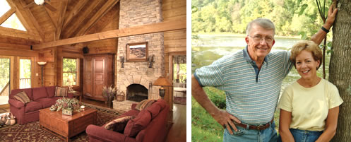 log home owners