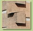 dovetail log siding corner with chinking