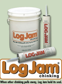 Log Jam Chinking