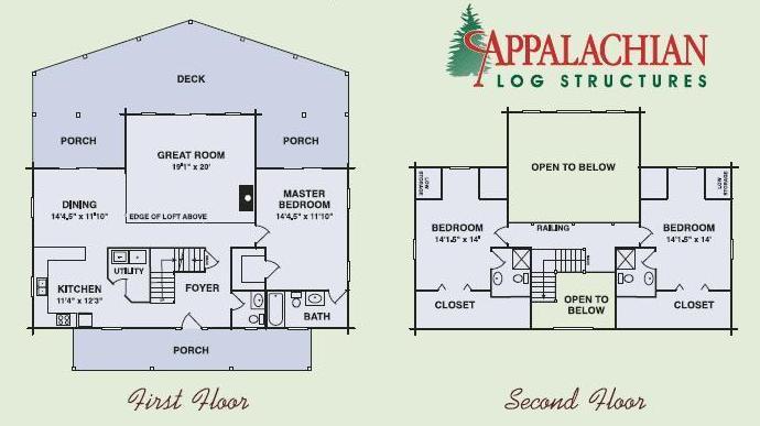 modified fair oaks, custom log home, modified log home floor plan