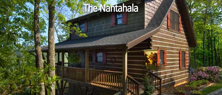 Nantahala floor plan, log cabin home, log home