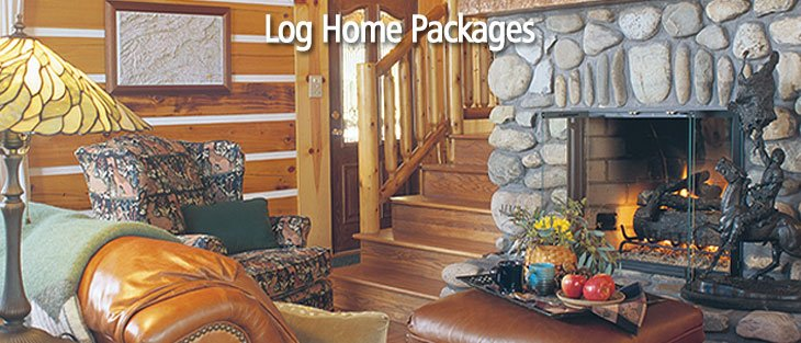 Log home packages.