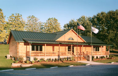 poca  log cabin library