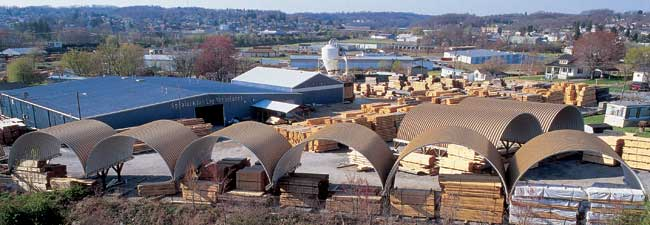 log home manufacturer