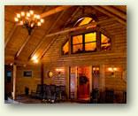 log home tour custom log cabin