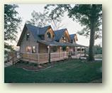 fair oaks log home
