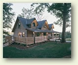 fair oaks log home