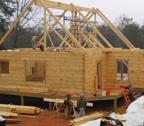 custom log home builder