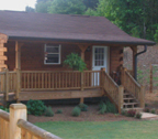 log cabin packages