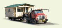 trail cabin delivery