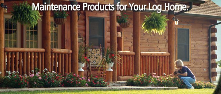 maintenance products for your log home