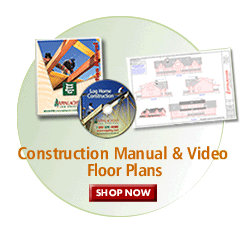 Contruction Manual, Video, Floor Plans: Shop Now