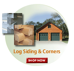 Log cabin siding material, shop now