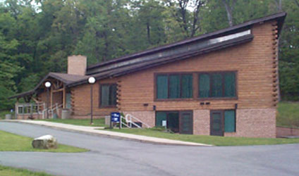westvaco log structure commercial building