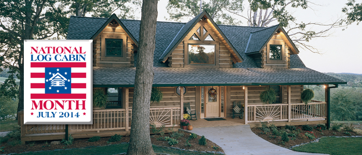 Log Home Month