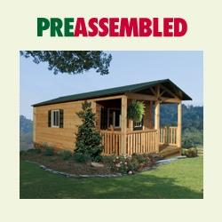 Trail Cabin Preassembled