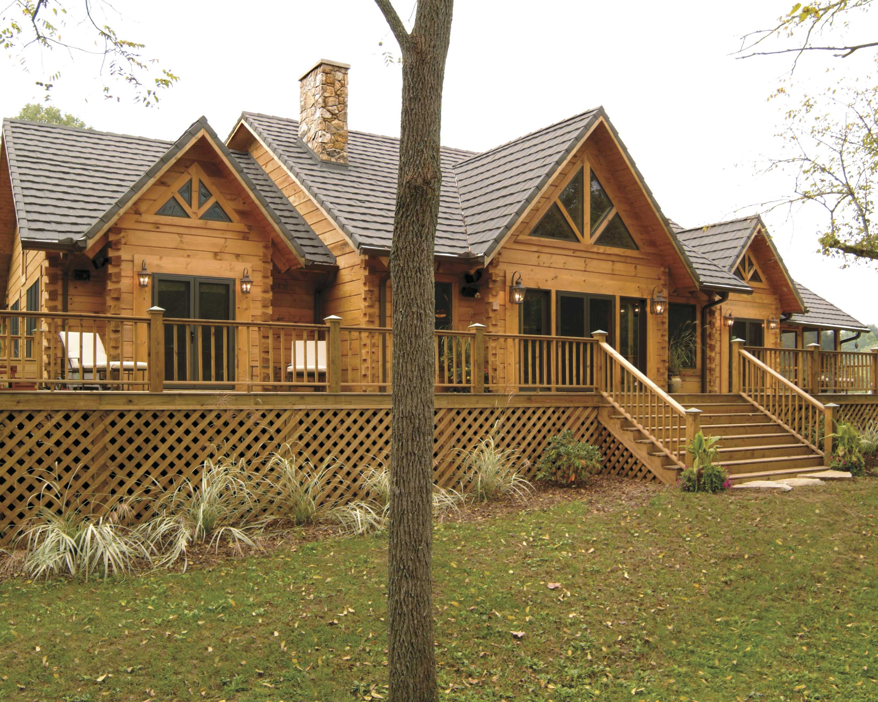custom log home, log cabin home, log structures