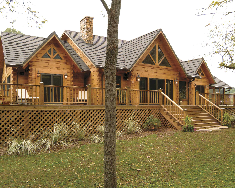 custom log home, log cabin home, log structures