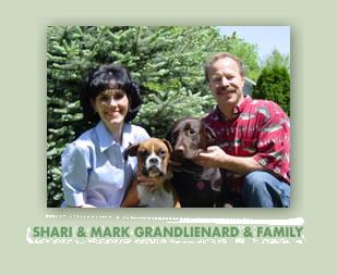 Shari and Mark Grandlienard and family