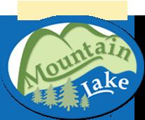 Mountain Lake log cabin homes rental