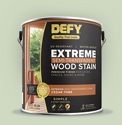 Defy®Extreme Wood Stain