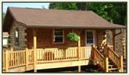 Trail Log Cabin Unassembled