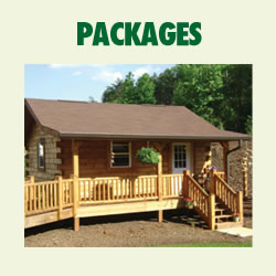 Trail Cabin Packages Unassemble/Not Precut