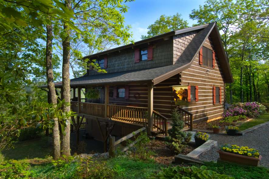 Dream Log Home