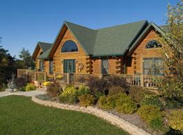richmond log home plan