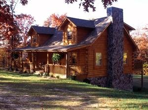 mount vernon log cabin